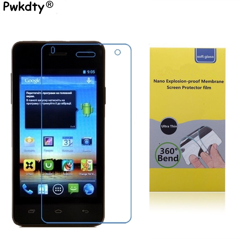 Nano Explosion-proof Soft Glass For Fly IQ4491 ERA Life 3 Clear Screen Protector Front Protective Film