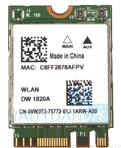 Dual band 867Mbps Bluetooth 4.1 DW1820A Broadcom BCM94350ZAE WIFI Card 802.11ac