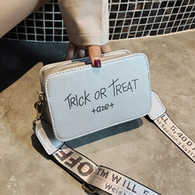 Youda New Female Shoulder Bag Waterproof Hip Hop Retro Fashion Clutch Sweet Letters Literary Solid Color Portable Diagonal Bags
