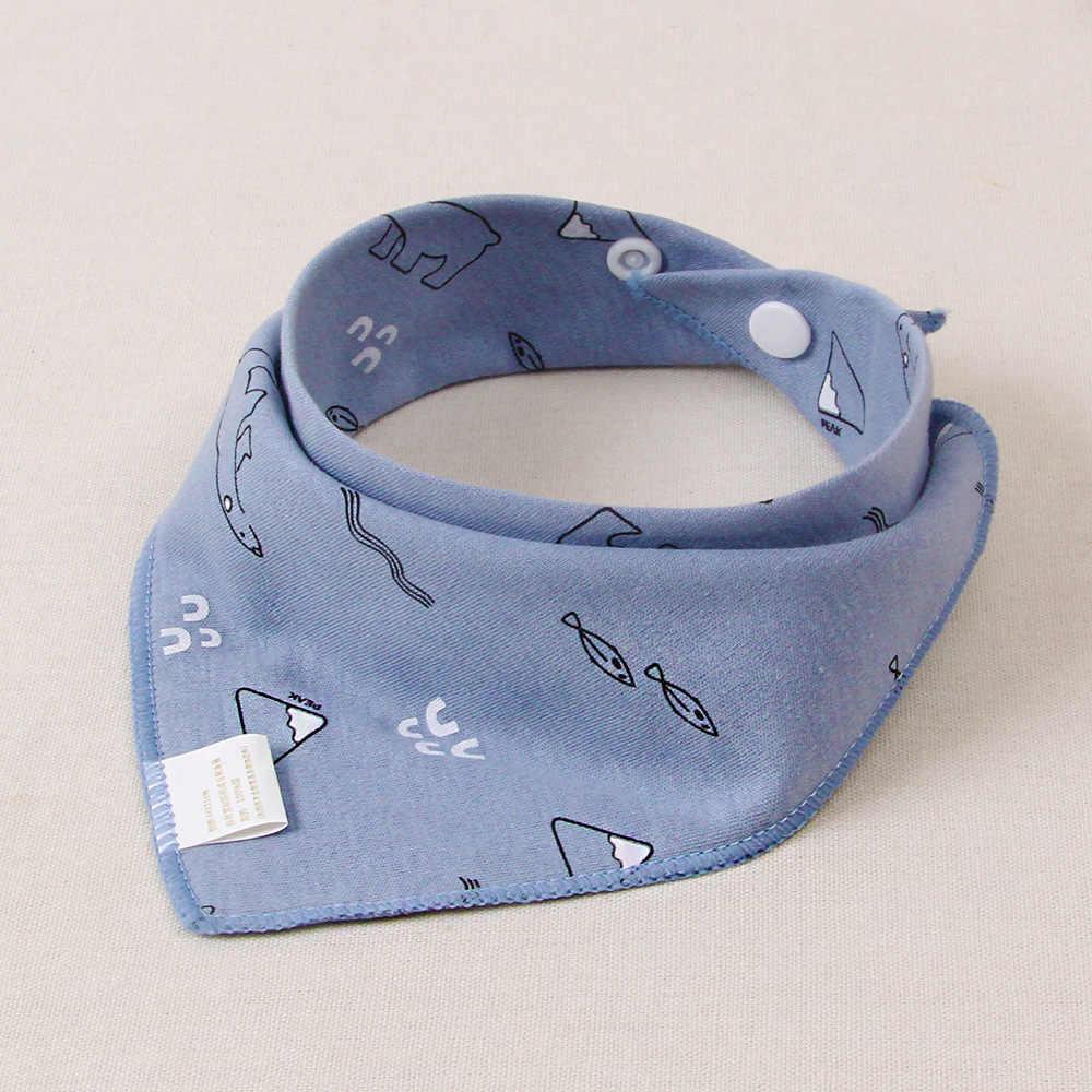 Algodão arroto pano bebê bandana babador para 0 ~ 3 anos de idade criança meninos meninas saliva toalhas da criança cachecol recém-nascidos bebê cachecol avental