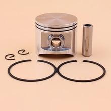 Комплект поршневых колец 50 мм для Husqvarna 365 371 362 371XP 372 372XP, запасные части для бензопилы