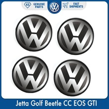 4pcs/Set 56mm Logo Emblem Badge Wheel Center Hub Cap for VW Volkswagen Jetta Golf Beetle CC EOS GTI 1J0 601 171 цены