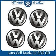 Centre de roue avec emblème de Logo, 4/56mm, pour VW/Volkswagen Jetta, Golf, coccinelle, CC, EOS, GTI, 1J0, 601, 171