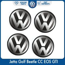 4 шт./компл. 56 мм Логотип Эмблема колпачок ступицы колеса для VW Volkswagen Jetta Golf Beetle CC EOS GTI 1J0 601 171