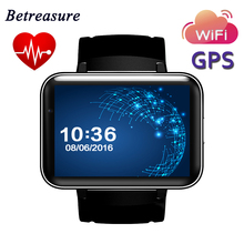 Betreasure DM98 Smart Watch Android MTK 2.2″ Screen LED Dual Core 1.2G 900mAh With Camera WIFI 3G GPS APK SmartWatch