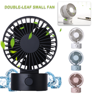 Mini Usb Fan Gadgets Double-va