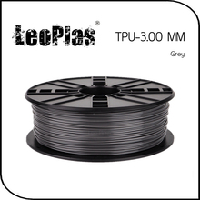 Worldwide Fast Delivery Manufacturer 3D Printer Material 1kg 2.2lb Soft 3mm Flexible Grey TPU Filament