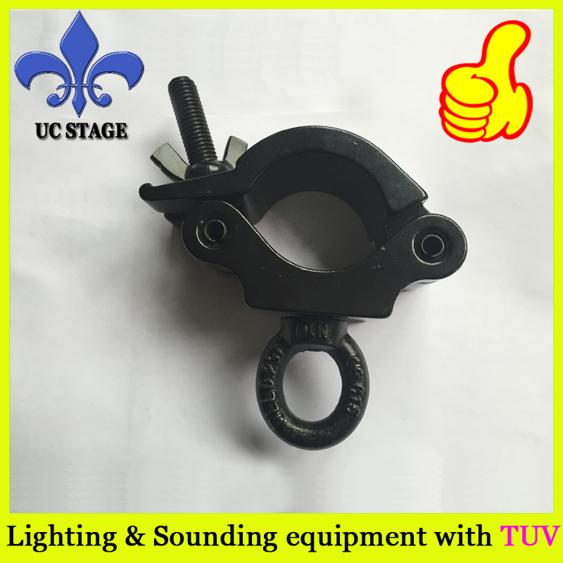 цена security and a 360 degree wrap around truss clamp 200kg Load Capacity Cast Aluminium Light Hook Truss