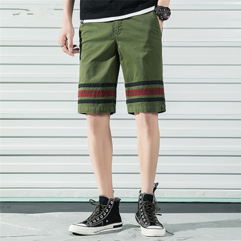 2019 New Summer Mens Shorts Cotton Casual Sports Men Overall Outdoor High Quality Streetwear