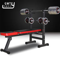 New Adjustable Weight Benches barbell rack 2016 new Professional sports Multifunctional weightlifting bed fitness equipment