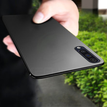 Keajor Case untuk Samsung Galaxy A50 Case Ultra Tipis Lembut Matte Silicon TPU Bumper Cover untuk Samsung Galaxy A30 Telepon kasus(China)