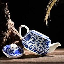 Высококачественный чайный горшок китайский чайный набор кунг-фу пуэр Чайник Кофе чайник из стекла удобный офисный чайник, традиционный ручной работы чайник