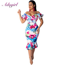 Sexy Women Sundress Floral Print Strapless Beach long Dress Summer Elegant Off Shoulder Evening Party Dresses Casual Vestidos цена 2017