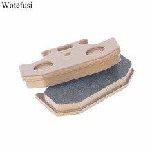 Wotefusi Rear Brake Pads For Kawasaki KX 125 250 500 KDX 125 200 220 250 KLX 250 650 [PA220]
