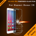 Nelanz Brand For Huawei Honor 5x Tempered Glass Screen Protector HD Screen Glass Protective Film 0.26mm For Huawei Honor 5x glas