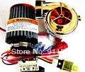 Turbo-500 Turbo kit MINI carro Turbo eletrônico turbina elétrica supercharger