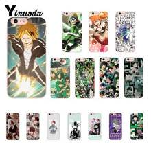 Yinuoda mi hero academia de estética de moda popular anime iPhone 7 para iPhone8 7 6 6S Plus X XSMAX 5S SE XR 10 11 11pro 11promax(China)