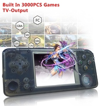 Powkiddy Retro Handheld Game Console 16GB 3inch Portable Mini Video Gaming Players Built-in 3000 Games With 360 Degree Control