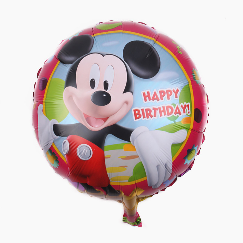 Все манеры Микки Минни воздушные шары на день рождения надувные декорации для вечеринки воздушные шары Детские Классические игрушки мультфильм шляпа - Цвет: 20