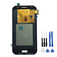 Coreprime Replacement AMOLED LCD For Samsung Galaxy J1 Ace J110 SM J110F J110H LCD Display Touch Screen Digitizer Assembly+Tools