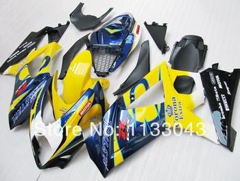 7gifts Fairing For SUZUKI GSX-R1000 K7 07 08 Blue Yellow GSX R1000 GSXR 1000 NEW K7 07-08 GSXR1000 2007 2008 Body