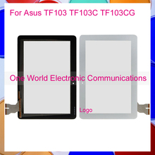 Black White 10.1″ For Asus Transformer Pad TF103 TF103C TF103CG Touch Screen Touch Panel Digitizer Sensor Front Glass Lens Track