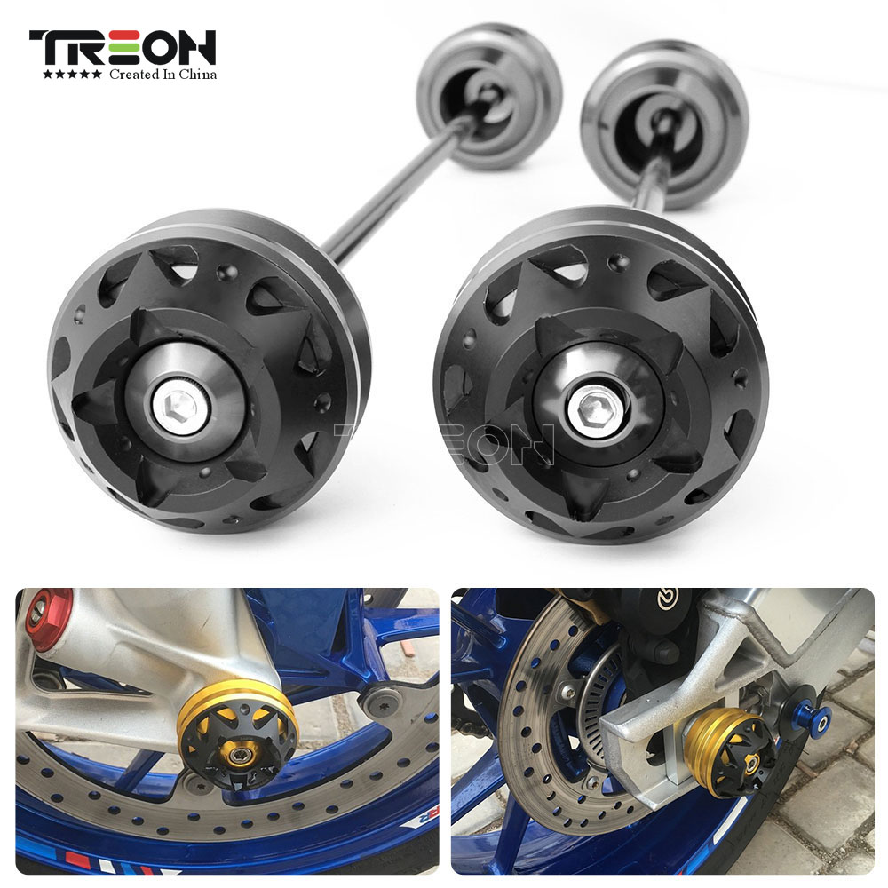 For Apriliar RSV4R RS4R FACTORY TUONO V4R 2008 2015 Motorcycle Accessories Front and Rear Wheel Axle