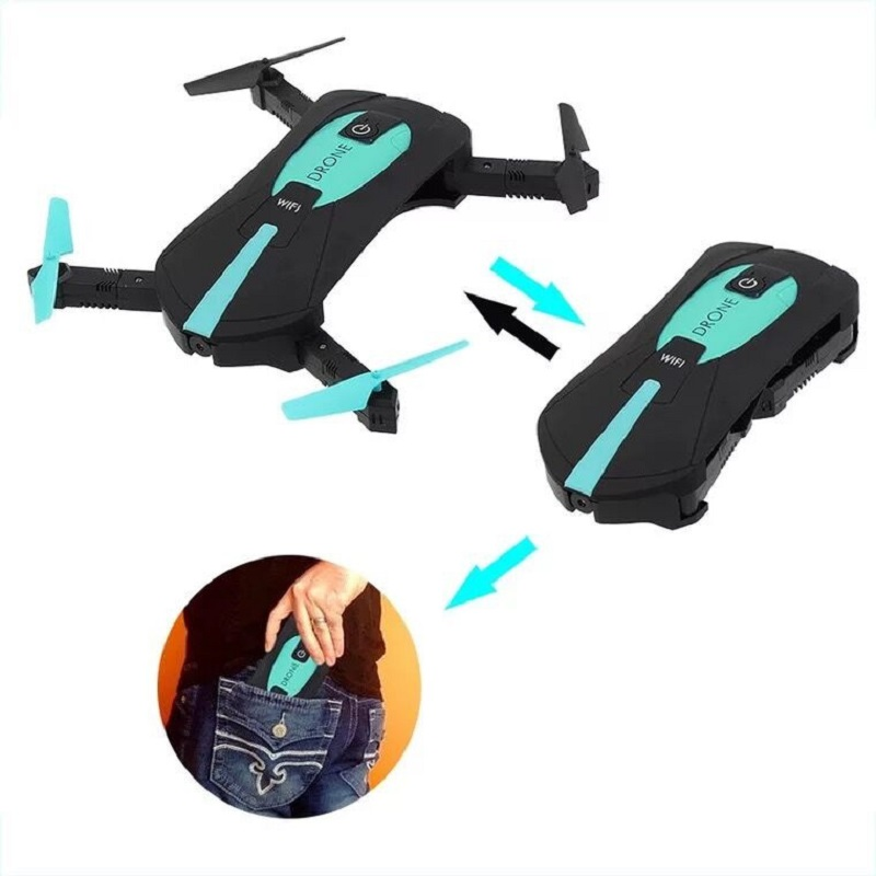 JY018 Fashion RC Selfie Drone 2.4G 3D Foldable Flying pocket Drone with 0.3MP WIFI FPV Camera RC quadcopter for kids gift jjrc h37 elfie rc quadcopter foldable pocket selfie drone with camera