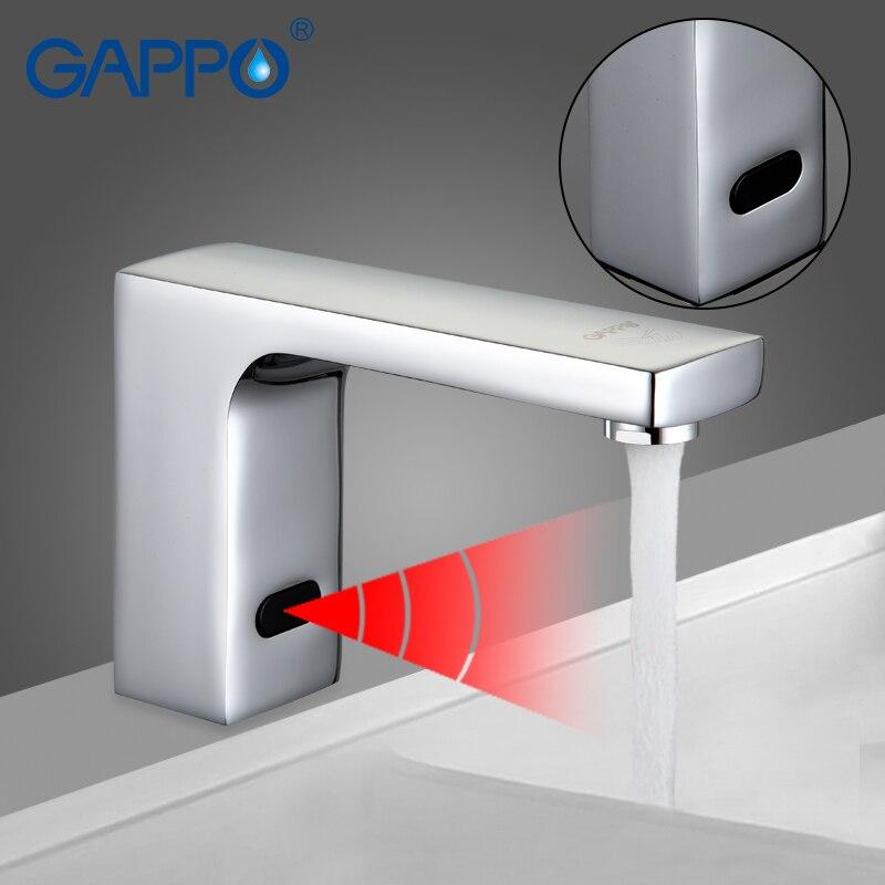 GAPPO Toccare Automatico Libero del Sensore Del Rubinetto Del Bacino Miscelatore Acqua bagno rubinetto del bacino del sensore rubinetti rubinetto miscelatore del bacino del rubinetto GA519