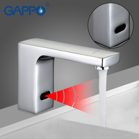 GAPPO 1set High Quality Touchless Sensor Faucet Mixer For Bathroom Sink Water Saving Automatic Infrared Inductive