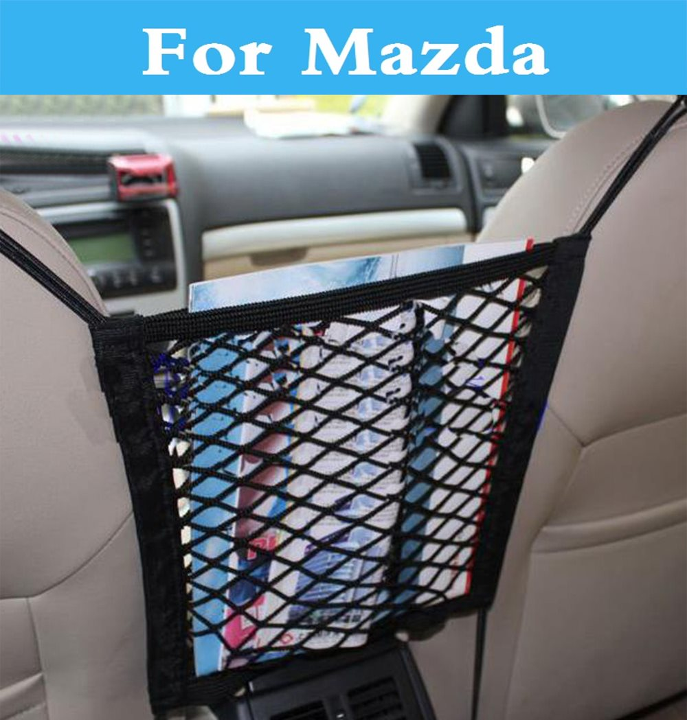 Car Organizer Seat Back Storage Trunk Mesh Net Bag For Mazda - Mazda net