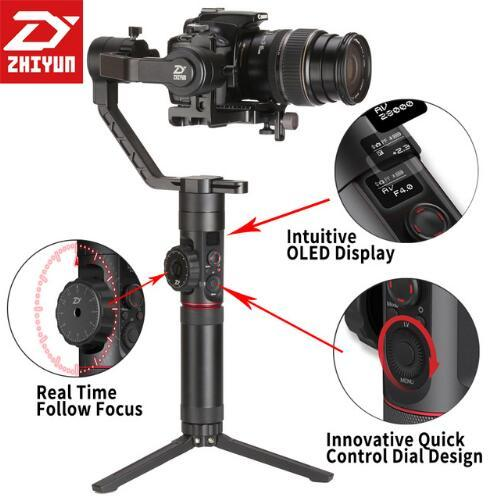 Us 7490 Aliexpresscom Buy Zhi Yun Zhiyun Official Crane 2 3 Axis Camera Stabilizer For All Models Of Dslr Mirrorless Camera Canon 5d25d35d4