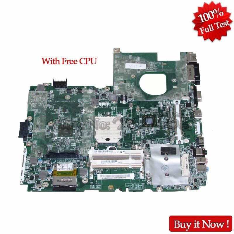 NOKOTION MBAUQ06001 MB.AUQ06.001 DA0ZK3MB6F0 エイサー熱望 6530 DDR2 送料 CPU  グループ上の パソコン & オフィス からの マザーボード の中 1