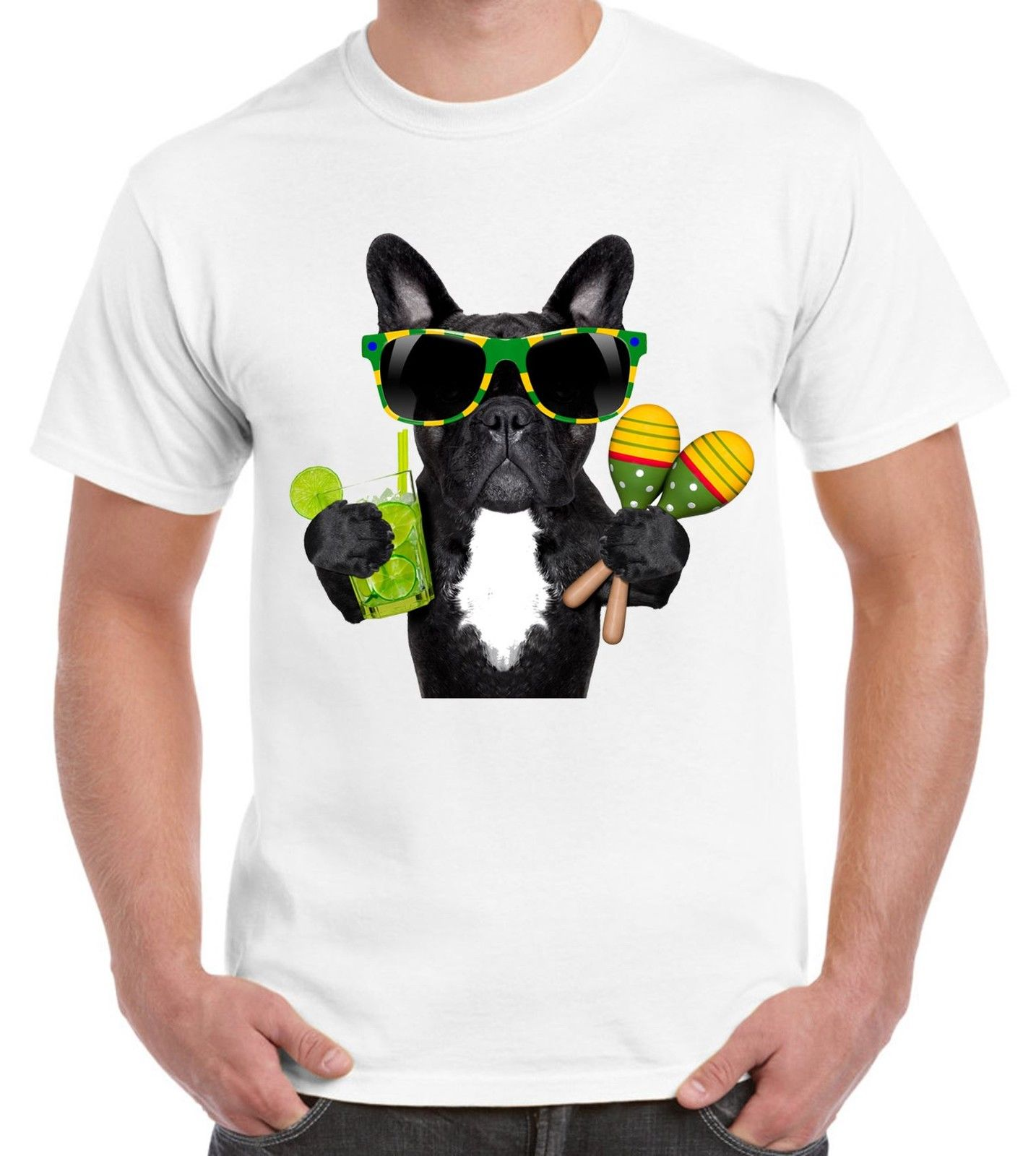 Loyal French Bulldog Brazillian Style Mens T-shirt T-shirts Bulldogs Brazil Funny Cartoon T Shirt Men Unisex New Fashion Tshirt Buy One Get One Free Tops & Tees