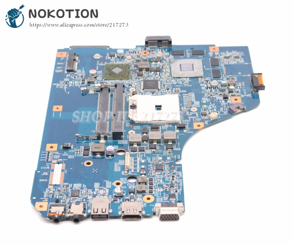 NOKOTION For Acer aspire 5560 5560G Laptop Motherboard 48.4M702.011 MBRNZ01001 MBRUS01001 System board DDR3 HD6650 1GB graphics