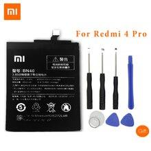 XiaoMi BN40 baterie do telefonów komórkowych dla Xiaomi Redmi 4 Pro 4000 mAh o dużej pojemności wymiana baterii + narzędzia