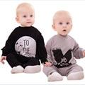 2016 nova primavera de uma peça romper macacão novo nascidos bebe roupas de bebê menino roupas roupas recém-nascidos bonito da criança roupa do bebê