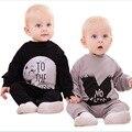 2016 nueva primavera de una sola pieza del mameluco del mono bebé recién nacido ropa de recién nacido ropa bebe lindo ropa para bebés ropa de bebé