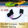 Fuerte Refuerzo III 5 modo JC-W-698 para JEEP Wrangler, Brújula, Patriot, freelander, Chrysler Sebring, unidad de Controlador Del Acelerador