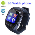 "X01 smart watch MTK 6572 Dual core 1.54 ""экран 512 МБ Ram 4 ГБ Rom сим-карты Android 5.1 Bluetooth 3 Г WIFI GPS Камера ПК ZGPAX S8"