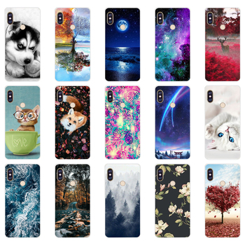 B silicone case For 5.99 inch Xiaomi Redmi Note 5 global pro Case Cover redmi note 5 Snapdragon 636 version note5 pro case image