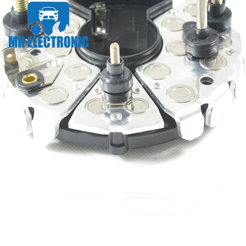 US $19 99 |MH ELECTRONIC Alternator Rectifier Diodes Holder 24V IBR341  BR341 1127320961 1342386 for Bosch 469 Series 90A IR/EF Alternators-in  Voltage
