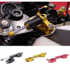 CNC Damper Steering StabilizerLinear Reversed Safety Control Over For Z800 Z750 Yamaha R6 Mt07 Fz6 R3