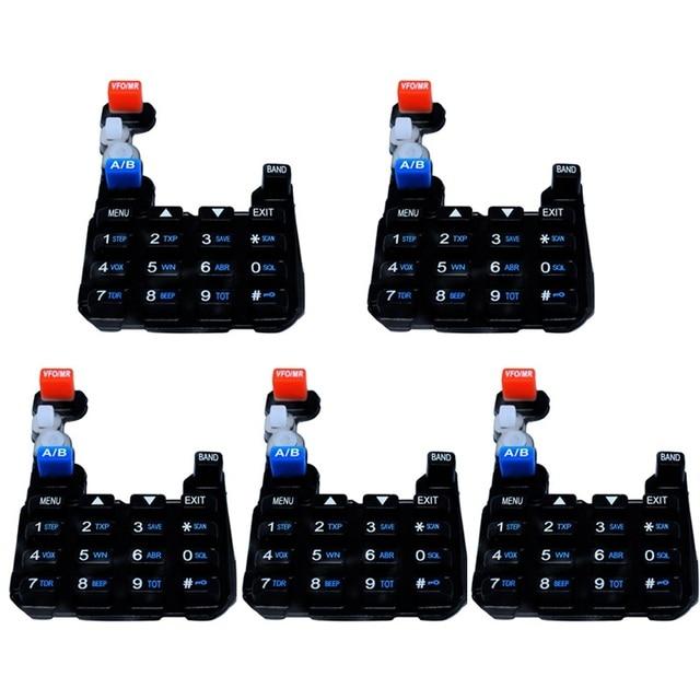 5 CÁI/LỐC Original Baofeng Walkie Taklie UV5R Numeric Keypad Bàn Phím Đối Baofeng Two Way Radio UV-5R UV-5RA-5RC UV-5RE Loạt