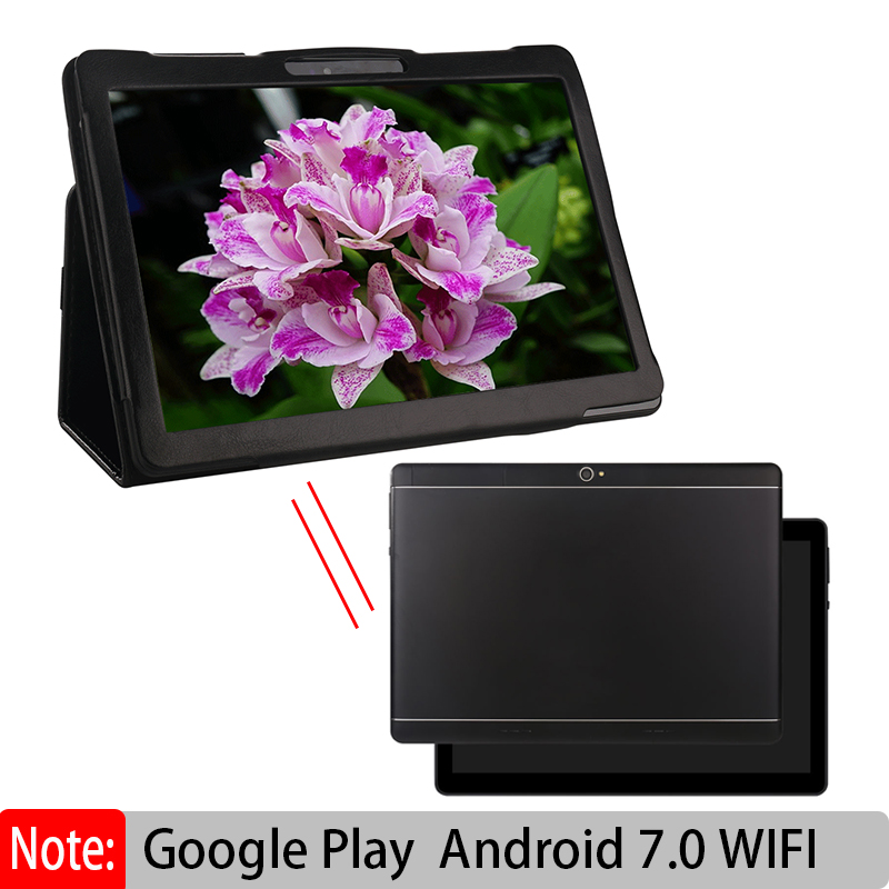 Original New Android Tablet PC 10.1 Inch Octa Core With Google Plya GPS WiFi  Phone Call 3G ADD Leather Case Kids Tablets