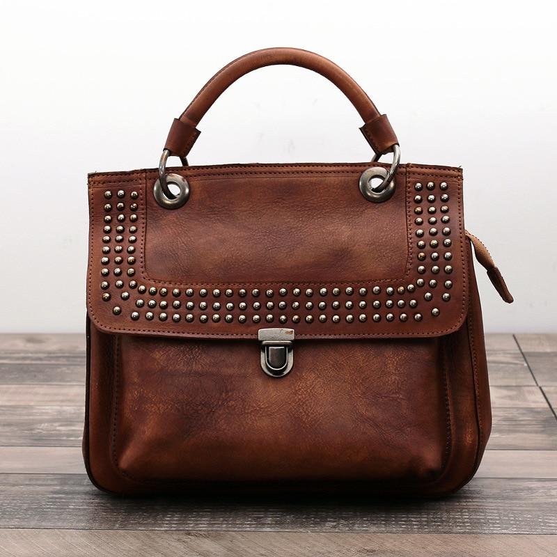 цена на Famous Brands Women Bags Handbags 100% Genuine Leather Women Messenger Bags Fashion Crossbody Bags for Women Business Tote Bags
