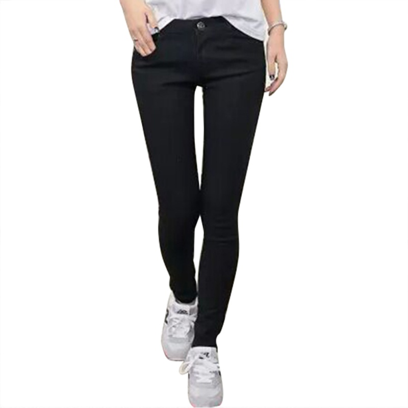 Sexy Women High Waist Jeans Pencil Stretch Denim Skinny Jeans Pants Trousers S-XXXL Lady Slim new 2017 jeans pants size 26 40 women fashion jeans pencil pants high waist jeans sexy slim elastic skinny pants trousers fit lady jeans plus size