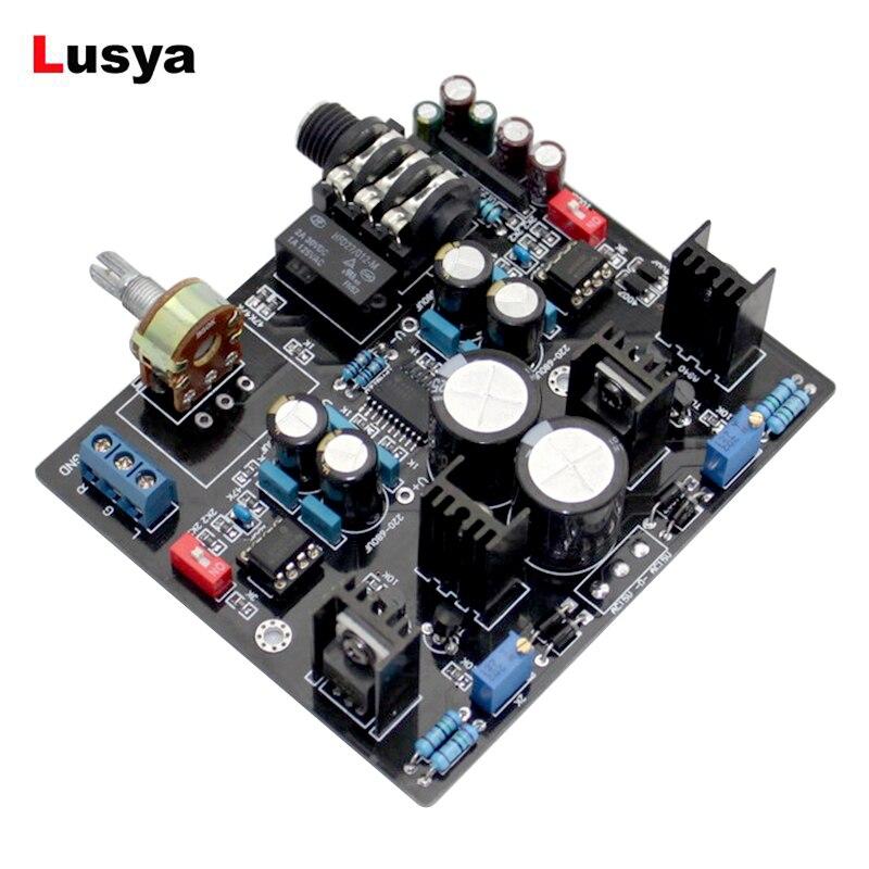 TPA6120A NE5534 Amplificatore Per Cuffie Consiglio UPC1237 Circuito di Protezione per 32-600 ohm altoparlante amplificador audio G9-007