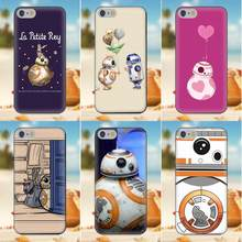 Para iPhone 4S 5S 5C SE 6 6 S 7 8 Plus X Galaxy Nota 5 6 8 S9 + Grand core Prime Alfa de nueva moda de Bb8 Droid La Petite Rey(China)