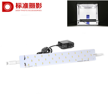 40cm size 30 LEDS 15 Watt mild images images gear equipment for Picture Studio Field Picture tent lighting adaptor